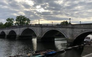 Bridge over Thames in Richmond